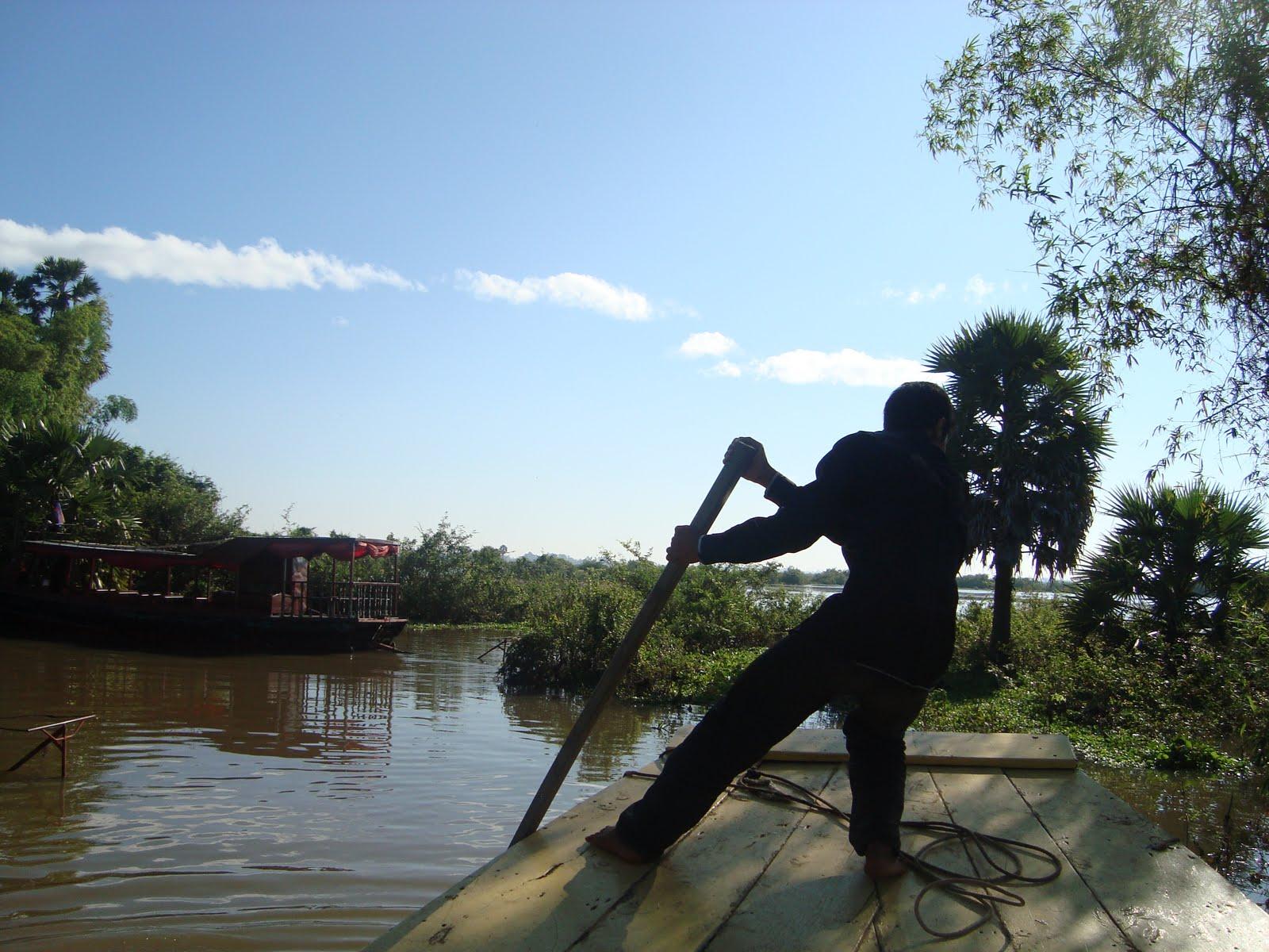 Bootsfahrt Tonle Sap