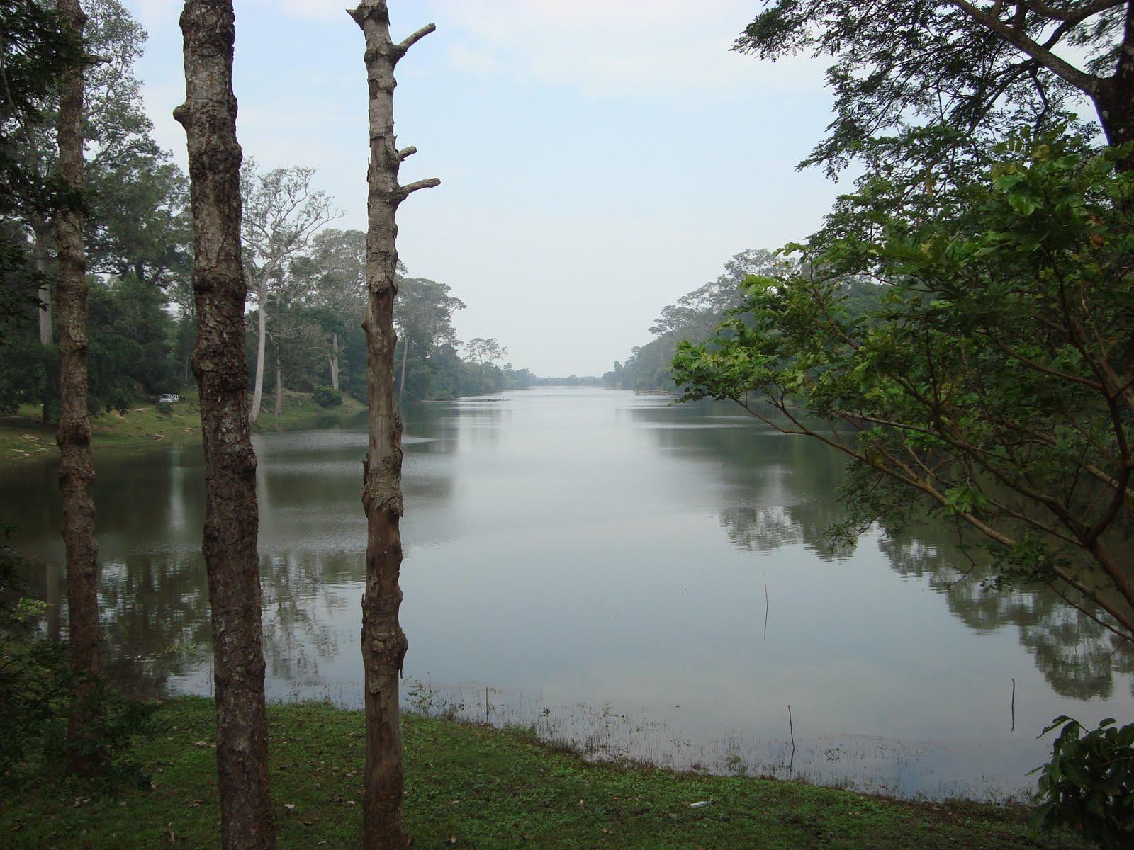 Fluss Kambodscha