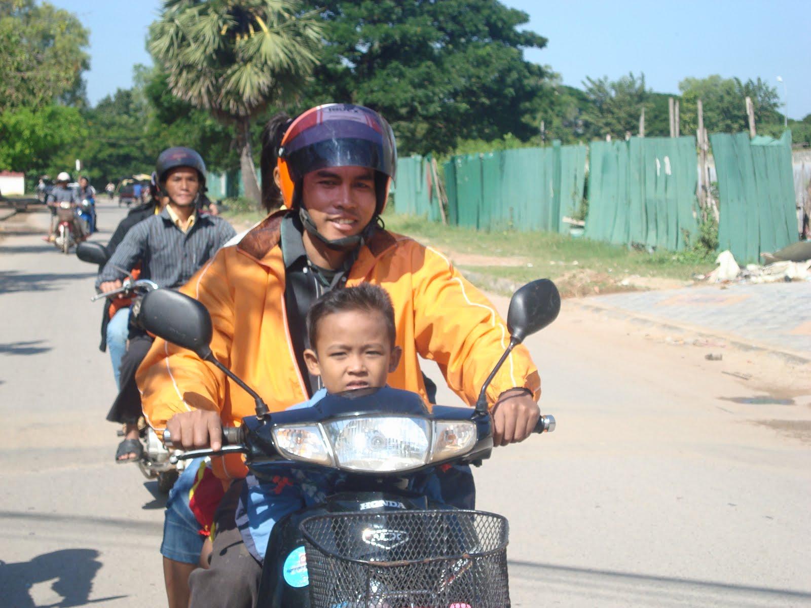 Moped Kambodscha