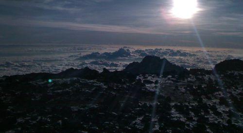 Sonnenaufgang hinter Stella Point