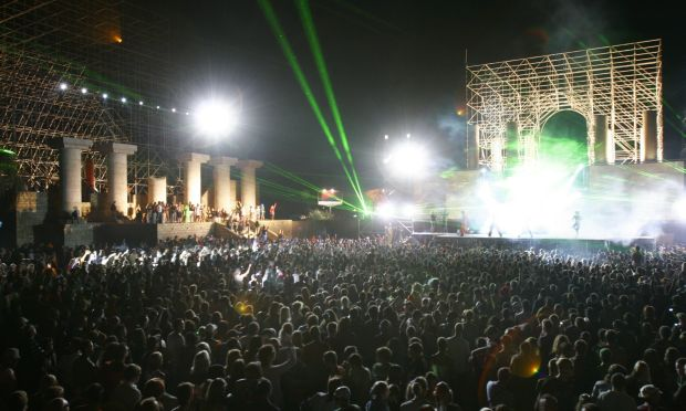 Techno Party KaZantip in der Ukraine