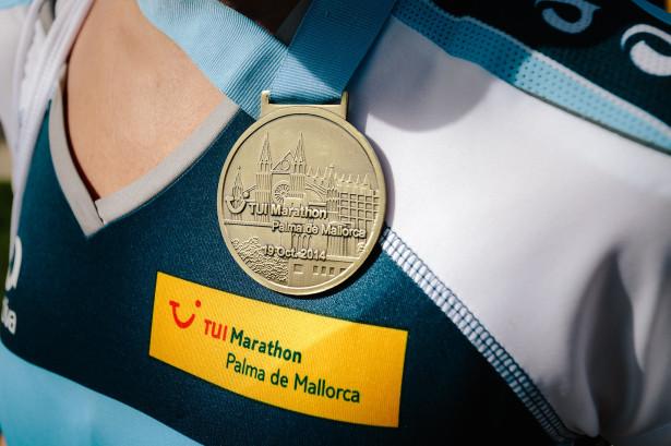Die Finisher Medaille