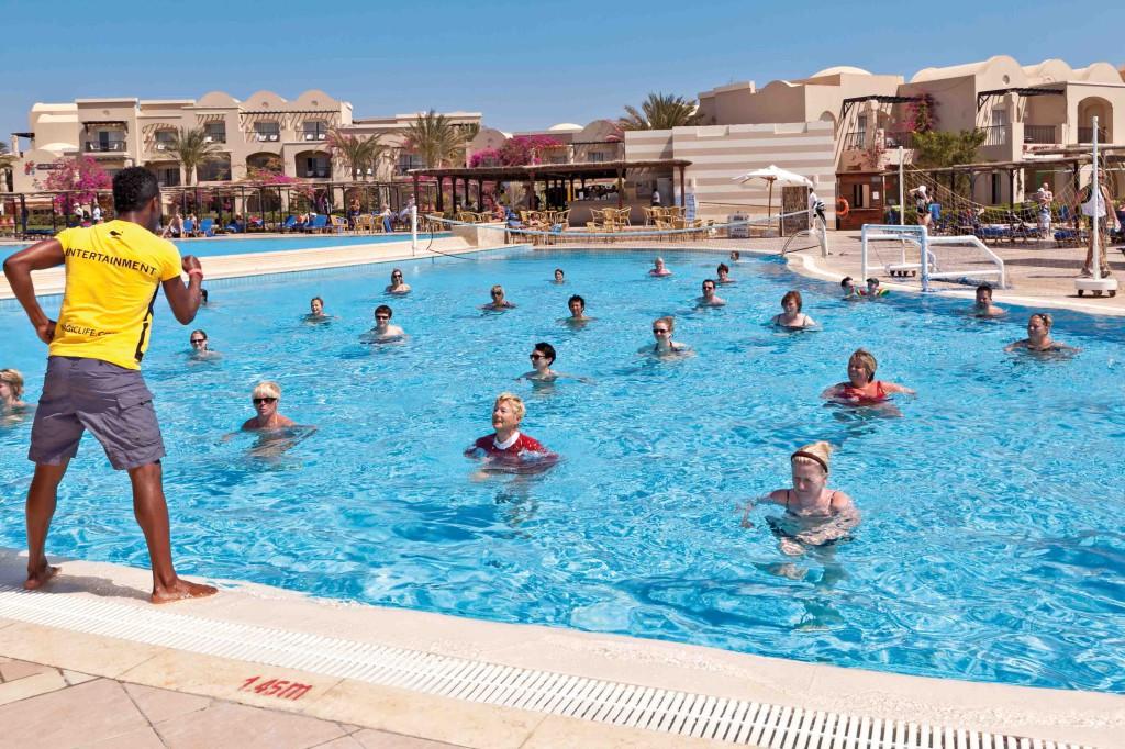 Entertainment Programm im Activity Pool