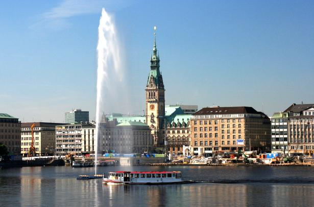 Hamburg Rathaus Städtetrip