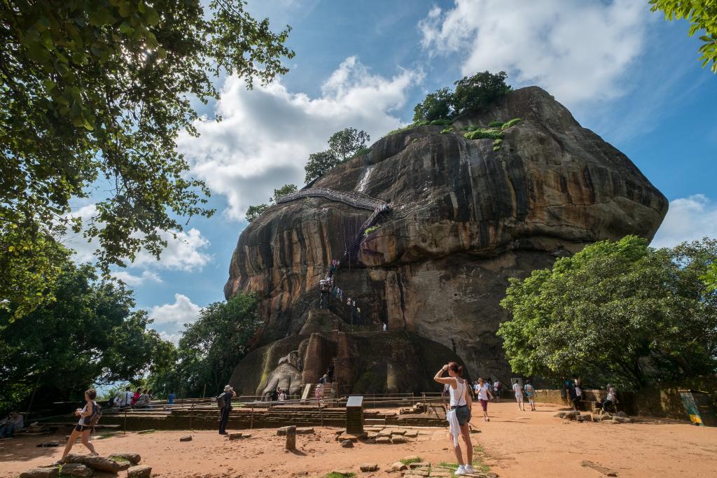 Sigiriya Felsen_Sri Lanka
