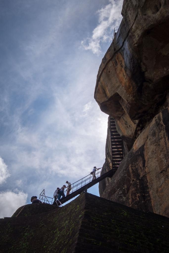 Felsen_Sigiriya Felsen_Sri Lanka