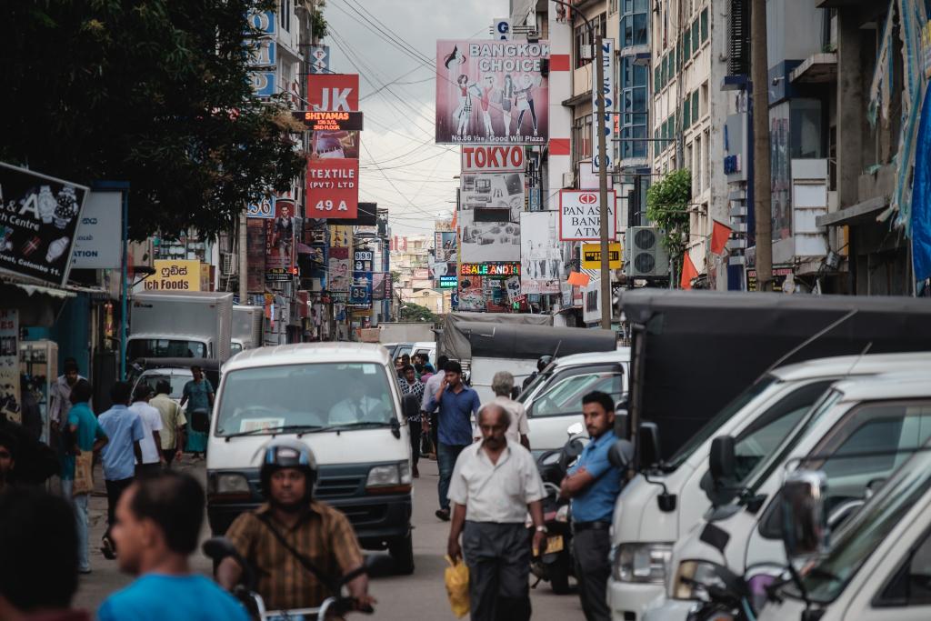 Sri Lanka_Colombo_Straßen