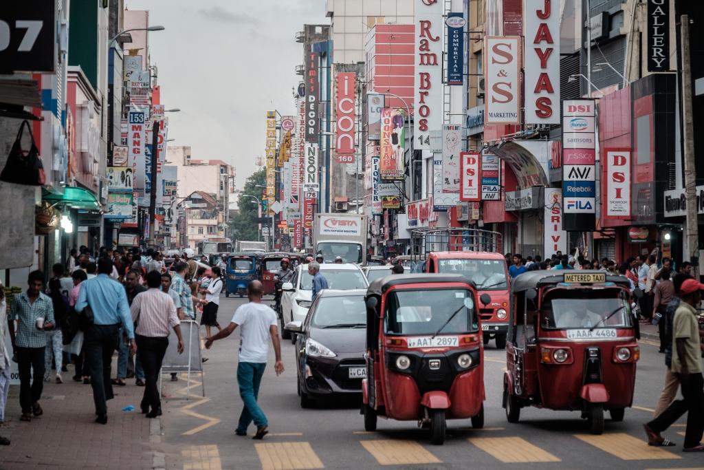 Sri Lanka_Colombo_Verkehr