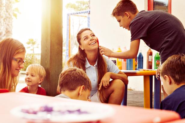 TUI_Smilestory_Kinderbetreuung in der Tuerkei_Kinderschminken