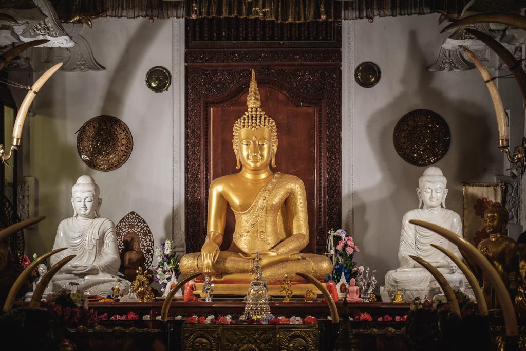 Zahntempel_Sri Lanka_Sri Dalada Maligawa_Kandy_Buddha