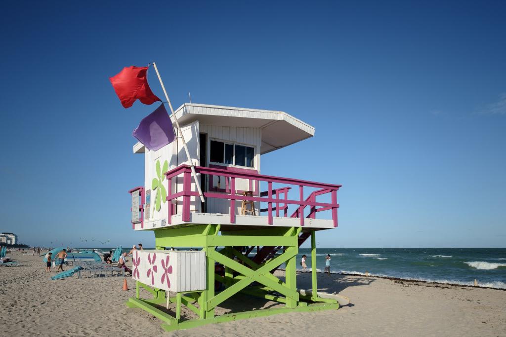 Life-Guard Miami Beach TUI