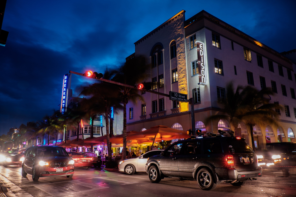 Miami Ocan Drive Urlaub TUI