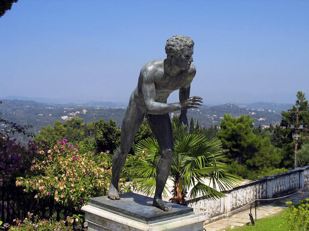 Korfu_Korfu-Stadt_Palast Archilleion_Archilleus