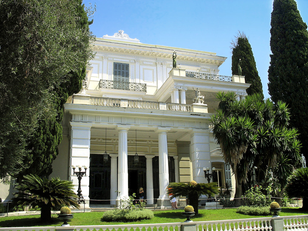 Korfu_Korfu-Stadt_Palast Archilleion
