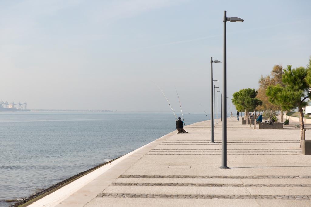 Tejo River Promenade Lisbon