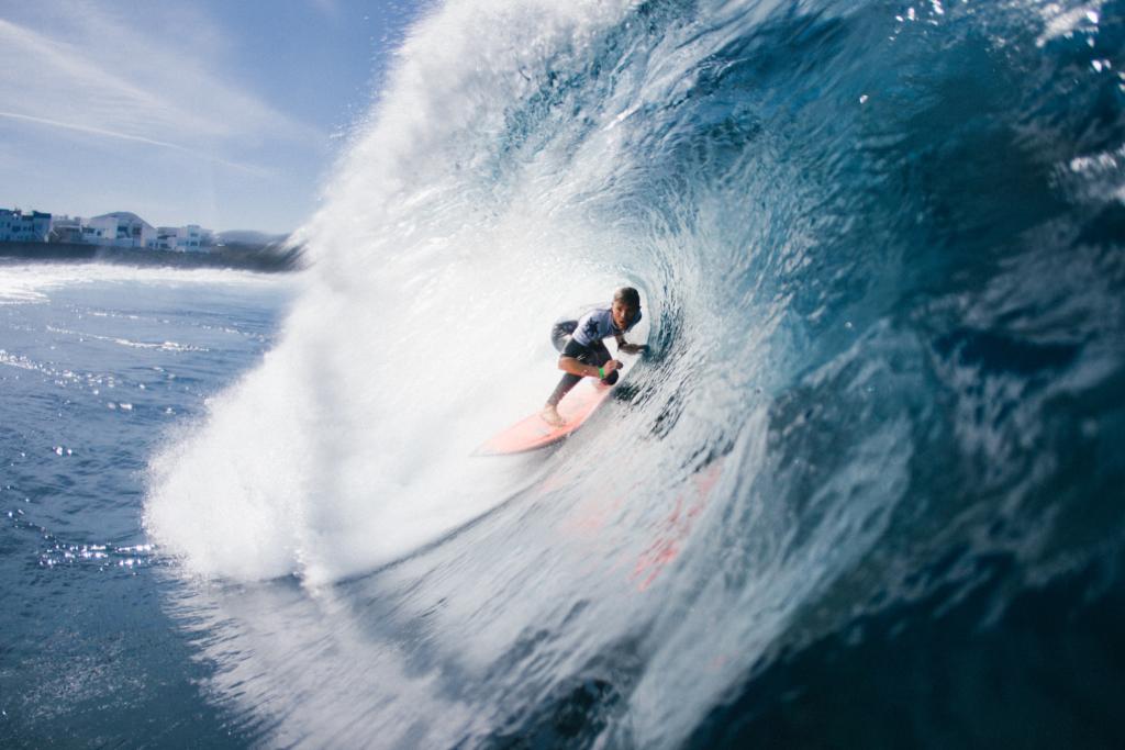 Kanaren_knarische Inseln_Lanzarote_Surfen