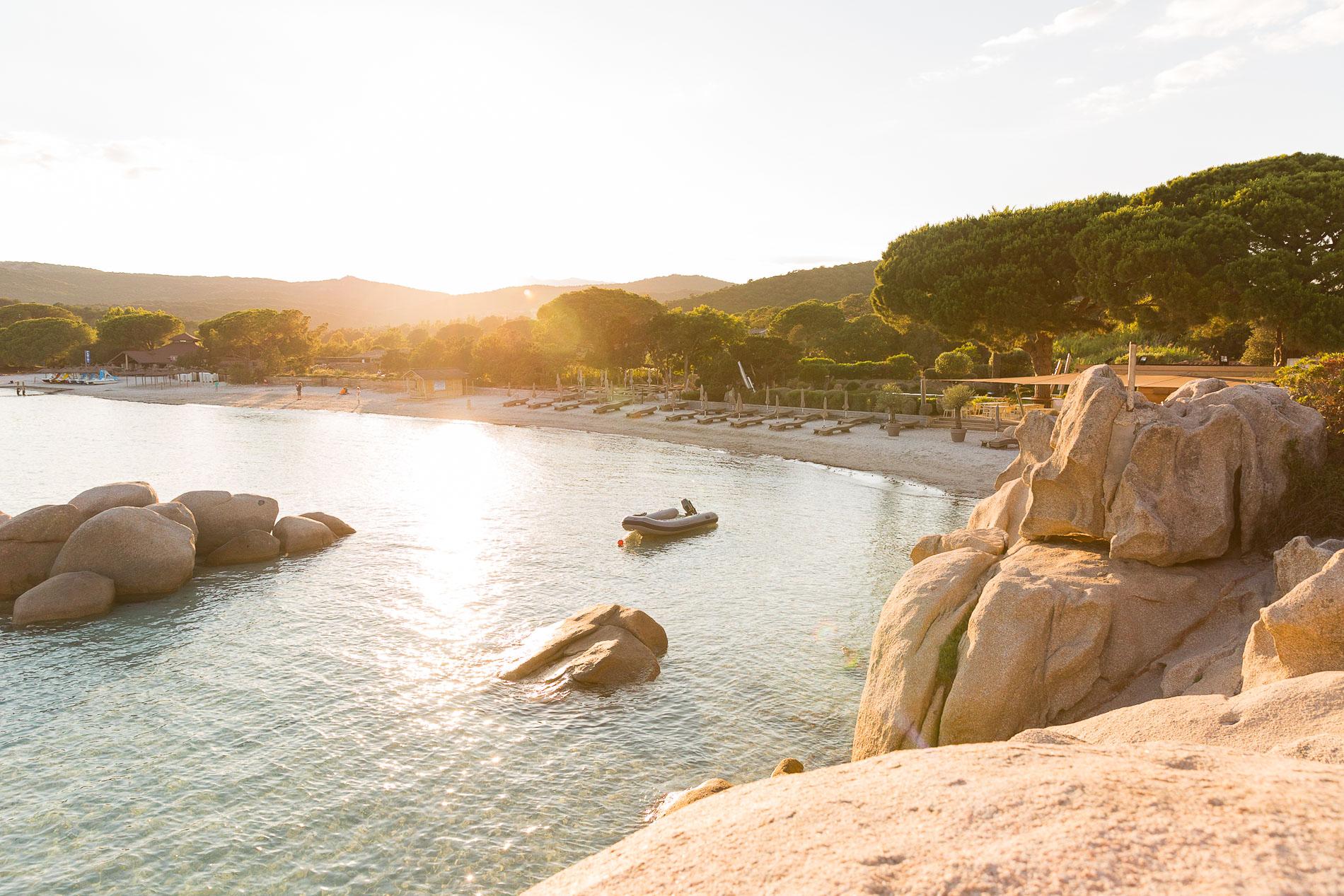 Santa Giulia im Sonnenuntergang.