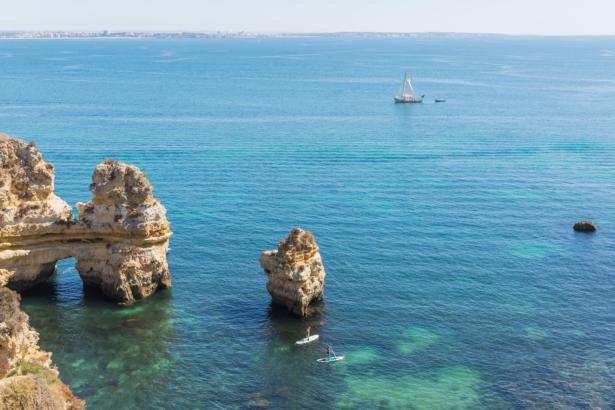 Die Strände im Süden der Algarve