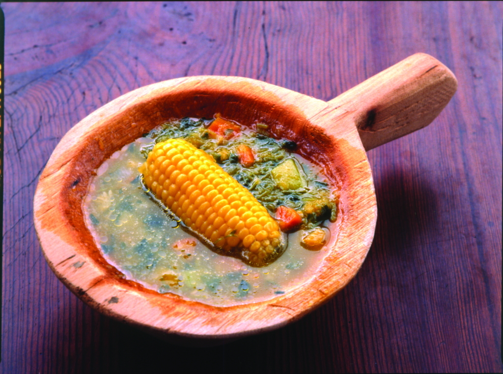 Kanaren_Kanarische Inslen_La Gomera_Brunnenkresse Suppe