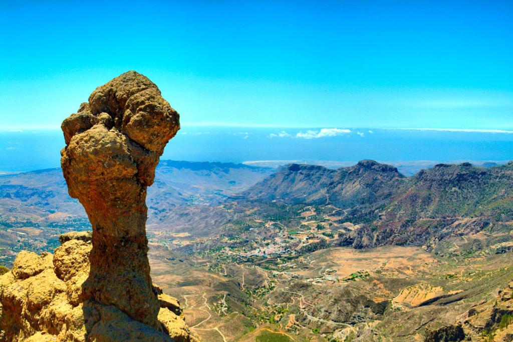 Kanaren_Gran Canaria_Tejeda_Roque Nublo