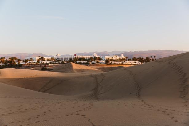 wüste gran canaria