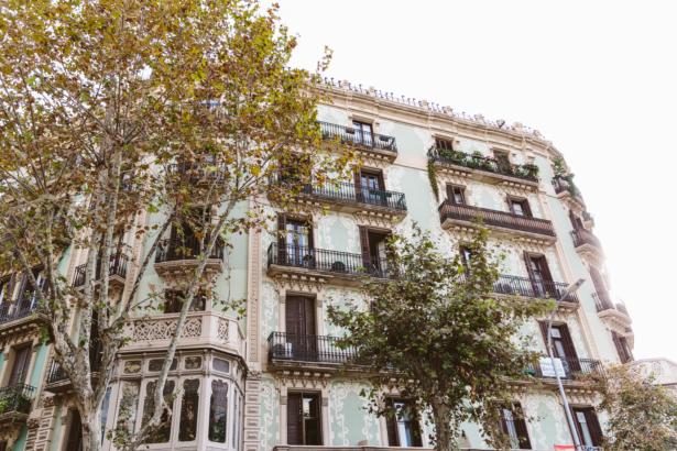 Barcelona Fassaden
