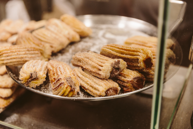 Churros mit Dulce de Leche in Barcelona