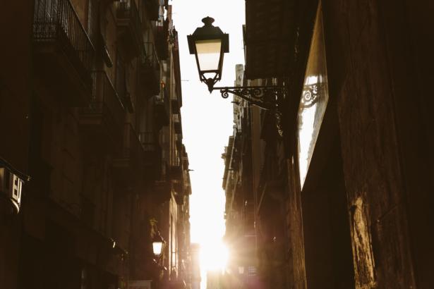 Barrio Gotico in Barcelona