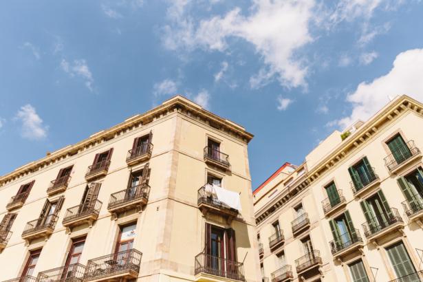 Fassaden von Barcelona