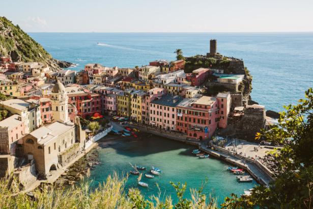 Ausblick auf Vernazza Cinque Terre