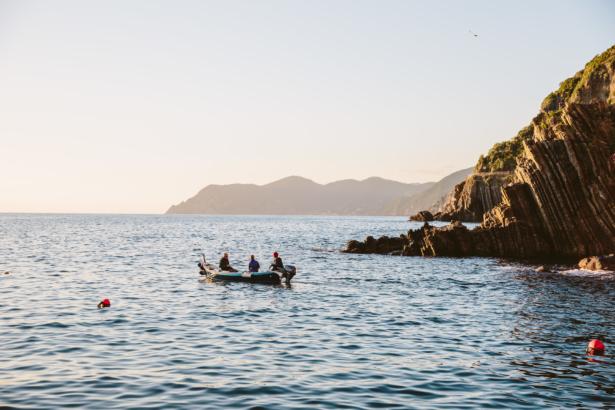Mit dem Boot nach Rio Maggiore