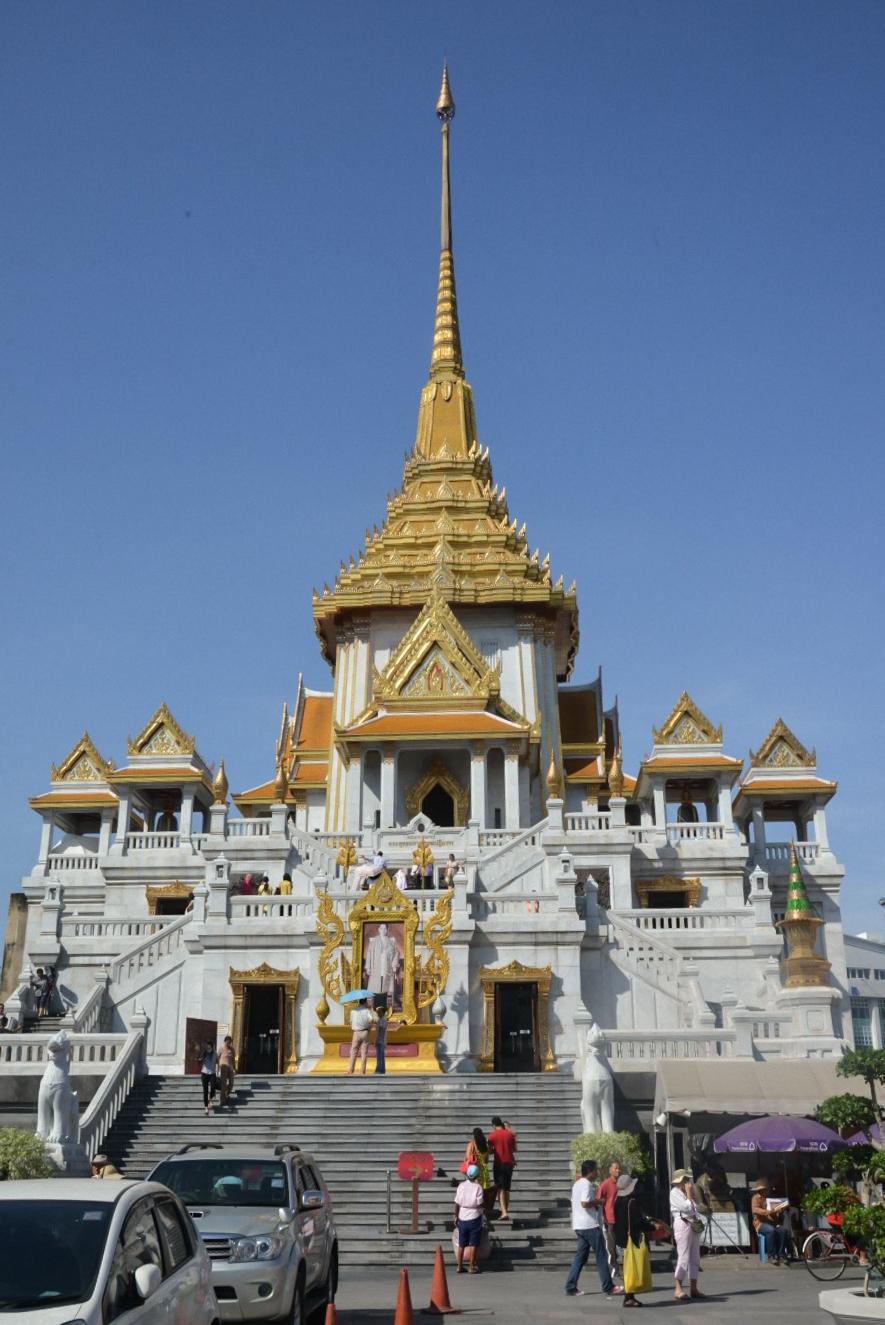 TUI_Thailand_Bangkok Bangkok Wat Traimit-goldene Buddha01