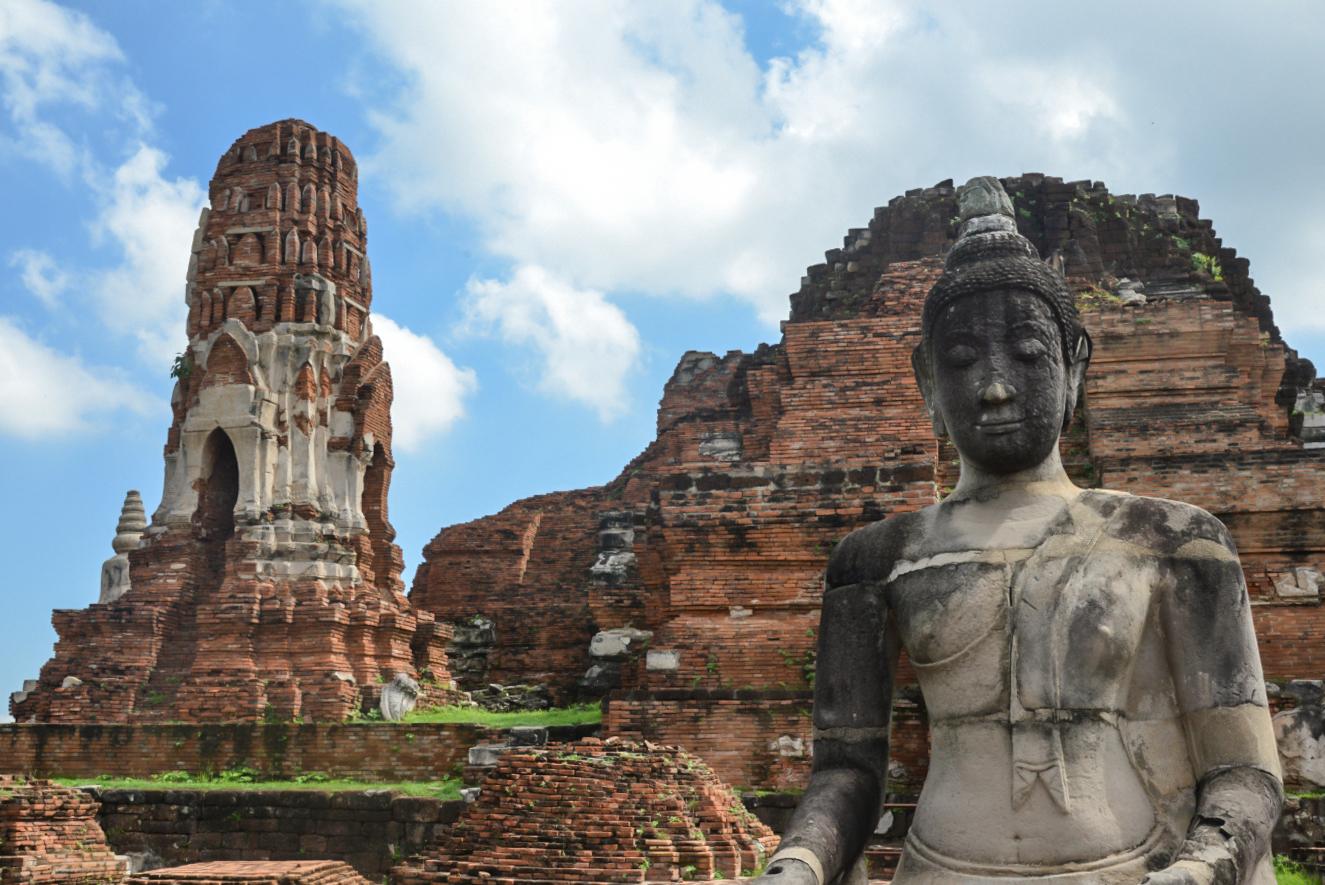 TUI_Thailand_Bangkok_Tempelanlagen Wat Mahathat02