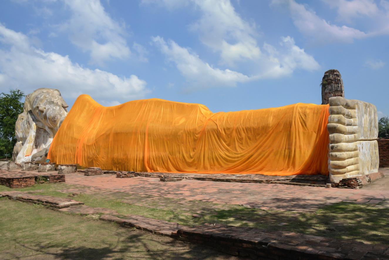 TUI_Thailand_Bangkok_ruhende Buddha_Wat Lokayasutharam01