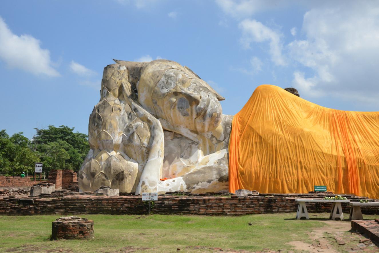 TUI_Thailand_Bangkok_ruhende Buddha_Wat Lokayasutharam02