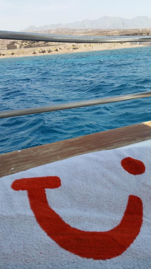 TUI_Jordanien_Aqaba_Rotes Meer_Rote Meer_Schiff_Schifffahrt_Handtuch