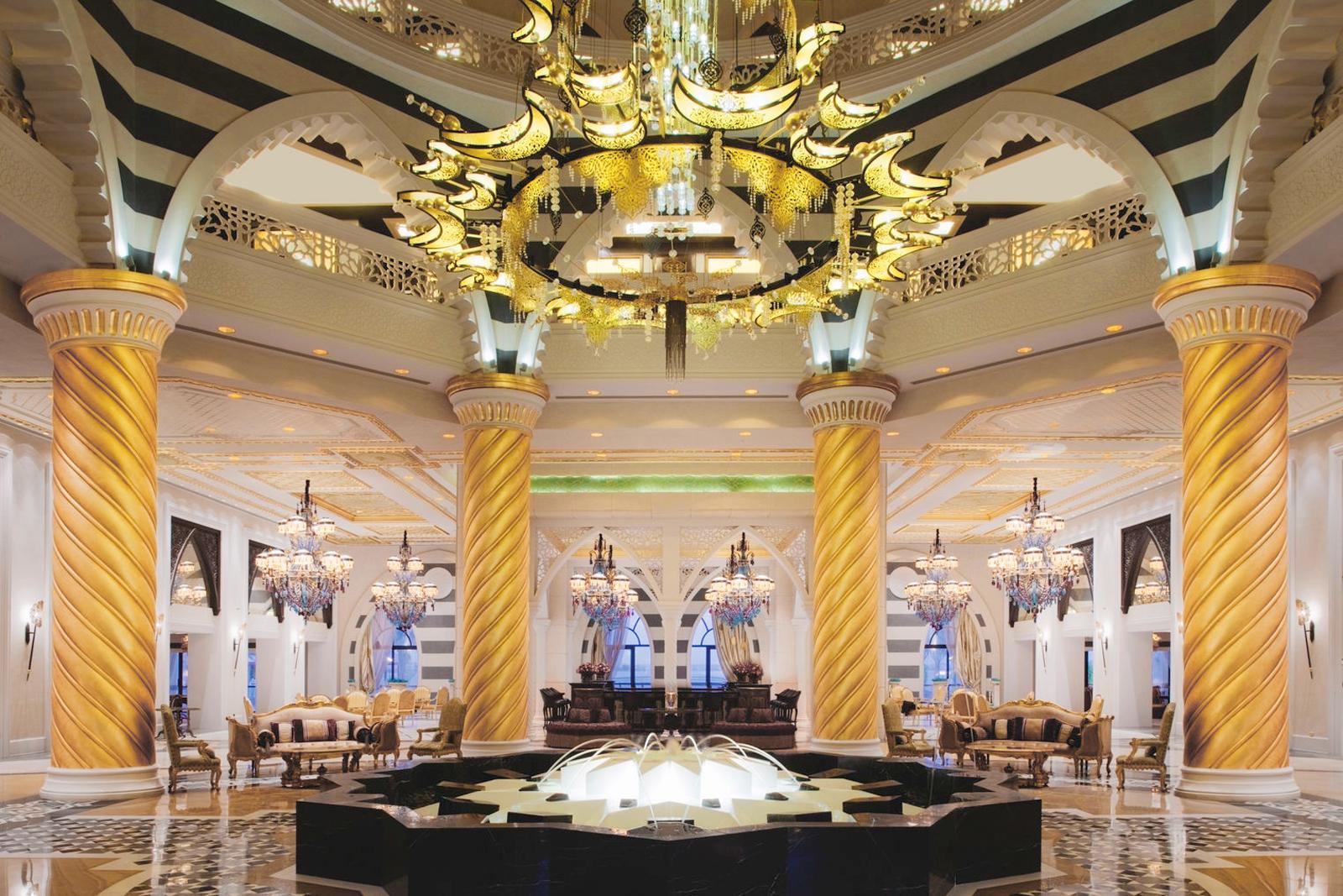 TUI_Dubai_Jumeirah Zabeel Saray_Rezeption