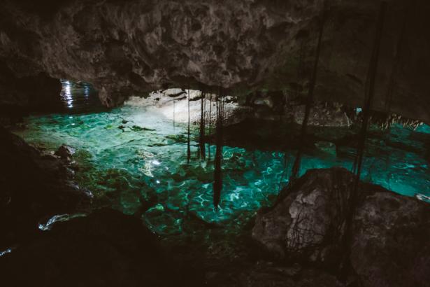 Aktun Chen Cenote in Yucatán