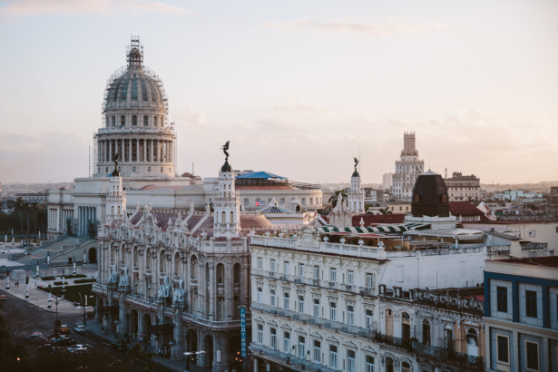 Blick vom Iberostar Hotel in Havanna