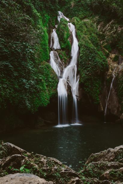 Vega Grande Wasserfall bei Trinidad Kuba
