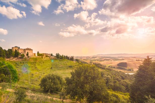 Castelfalfi Aussicht TUI Blog Reisen Italien Toskana