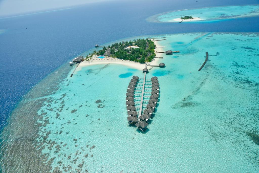 Maafushivaru Malediven Hotel TUI Blog Reisen Fernreise Meer Strand Insel Bungalow Overwaterbungalow Honeymoon