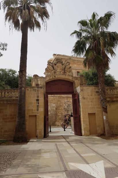Mdina Maltra Städtereise Insel Sprachreise Tor