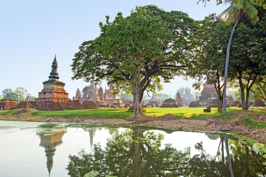 Höhepunkte Thailands_Wat Mahathat, Sukhothai