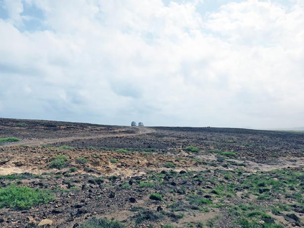 Viele Wege führen Off-Road über die Insel.