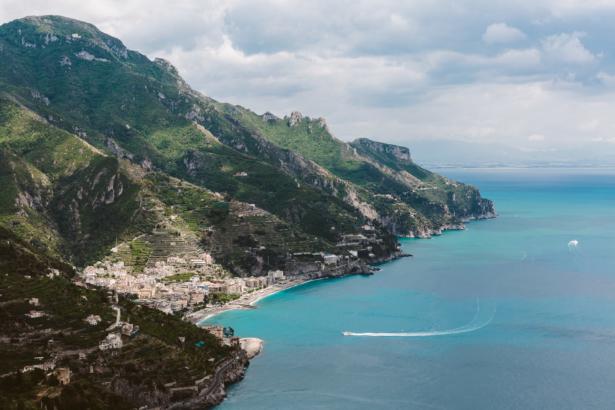 Amalfi-Küste Ausblick