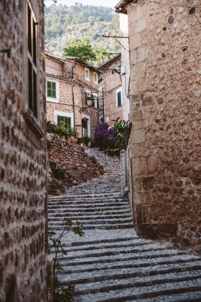 Mallorcas Westen Bergdorf
