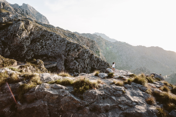 Bergpanorama Mallorca