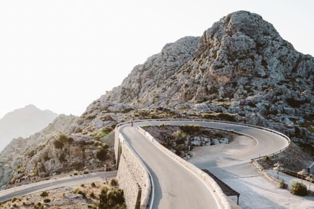 Bergstraße Mallorca Sa Calobra