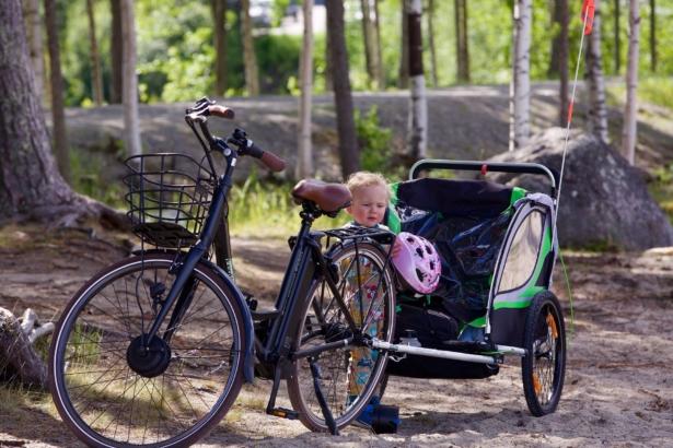 Fahrradreise mit Baby